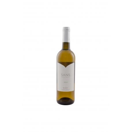 SANS vin sans sulfites ajoutés Blanc Buzet 2016